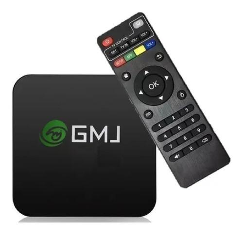 Tv Box 4k Uhd 5g 60fps 1gb Ram 8gb Memoria + Control Remoto