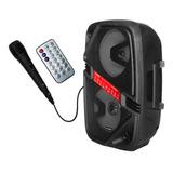 Parlante Aiwa Audio Party Aw-p450d Portátil Con Bluetooth 110v/240v