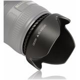 Parasol Pétalo 55mm Para Camara Nikon Af-p 18-55mm/d3400