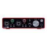 Interface De Áudio Focusrite Scarlett 2i2 3.ºra  Geração