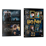 Pack Harry Potter + Animales Fantasticos Dvd Latino