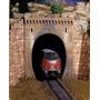 Par Portal De Tunel Ho 1/87 Hbm 302 Maquete Original
