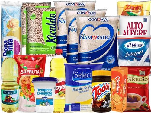 Cesta Básica De Alimentos Nobre Premium Cesta De Qualidade