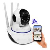 Cámara Ip Wifi Seguridad Robótica Vision Nocturna 360° + Obs