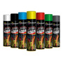 Tinta Spray Todas As Cores Caixa 2 Un Uso Geral E Automotivo Original