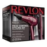 Kit Revlon Secador + Planchita Profesional Essentials Pelo