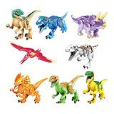 Dinosaurio Para Armar 16 Piezas Varios Modelos 49860