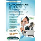 Concentradores 10 L/m Marca Olive Alquiler Y Venta