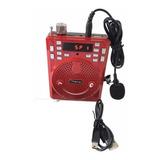 Amplificador  Voz + Micrófono Vincha  Megafono Clases Aula