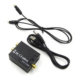 Convertidor Audio Digital Óptico A Análogo Rca Envió Gratis