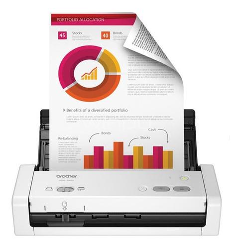 Escáner A Color Dúplex Brother Ads-1200 50ppm - Saletech