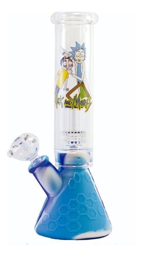 Bong De Agua 420 Rick & Morty Weed Model Boquilla Pyrex