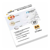 Papel Fotográfico Premium Rc Satin Luster A4 260 Gr 20hojas