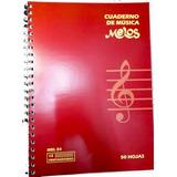 Cuaderno Pentagramado Anillado Melos 50 Hojas