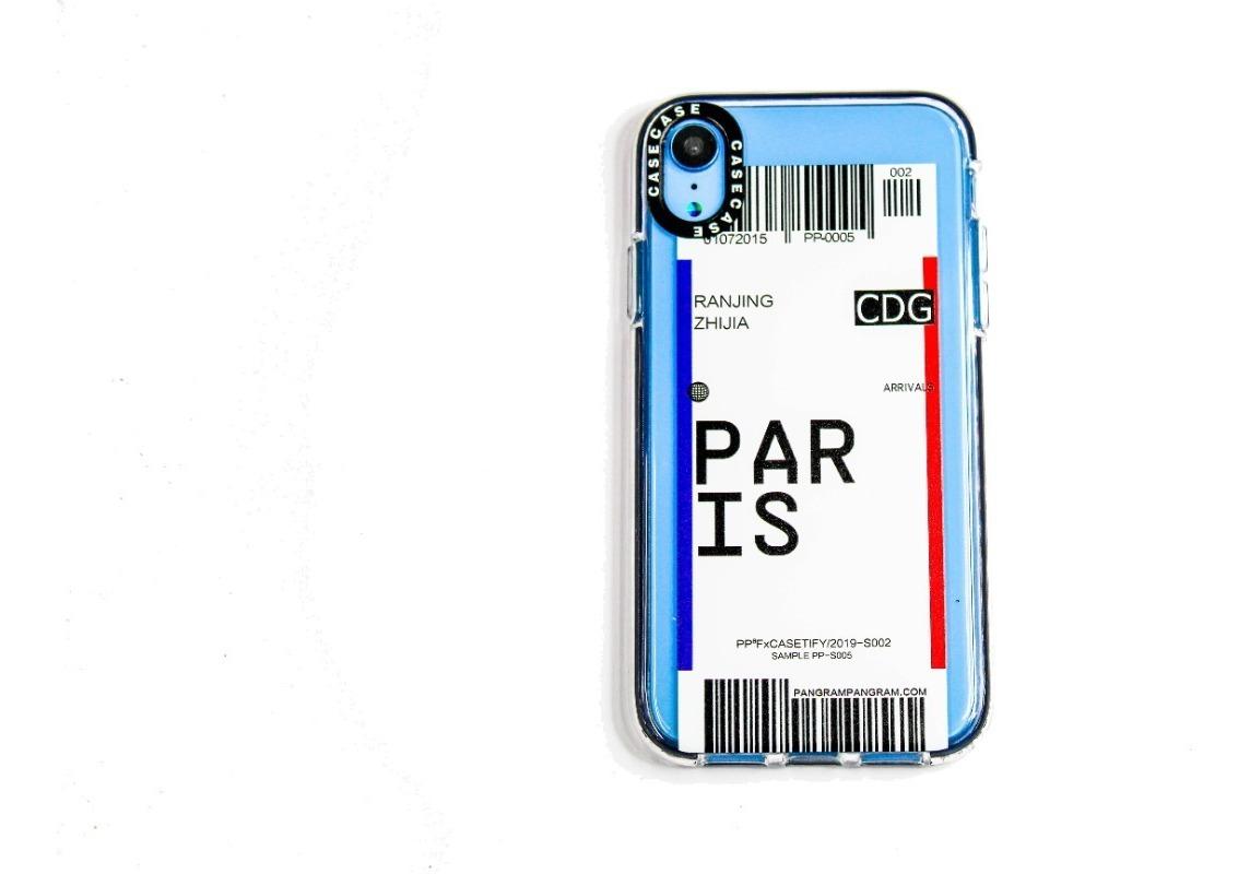 FUNDA TICKET PARIS IPHONE XR