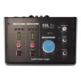Interface De Áudio Solid State Logic Ssl 2+