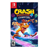 Crash Bandicoot 4: Its About Time Standard Edition Activision Nintendo Switch Digital