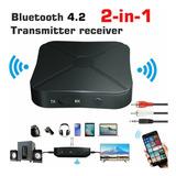 Kn319 2 En 1 Bluetooth Transmisor Receptor Audio Bluetooth.