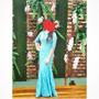 Vestido Para Madrinhas De Casamento Tam 38/40 Original