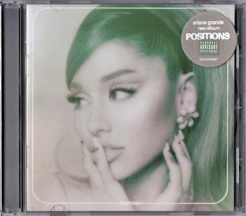 Positions - Ariana Grande - Disco Cd - Nuevo