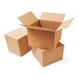 Caja De Cartón 40x30x30 Cm Ideal Para Mudanza