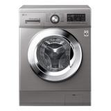 Lavarropas Automático LG Wm8514ee6 Inverter Stone Silver 8.5kg 220v
