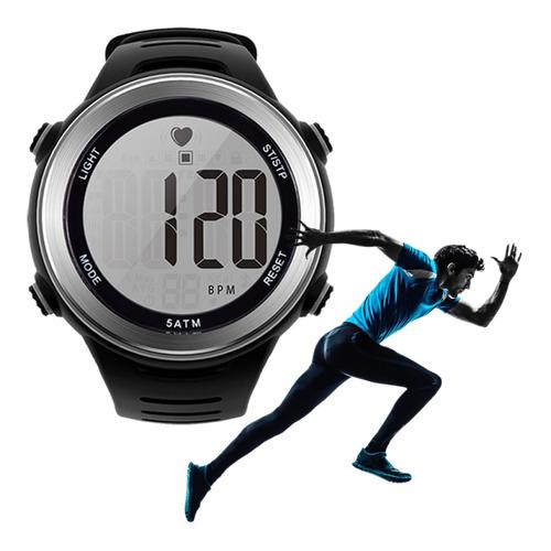 Reloj Smart Cardio Pulsometro Sumergible + Banda
