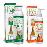 Eco Hair Combo Anticaida Crecimiento Cabello Locion+shampoo