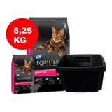 Equilibrio Gato 8.25 Kg + Contenedor
