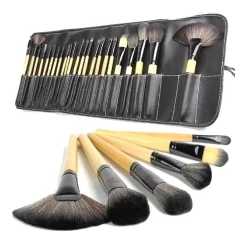 Brochas De Maquillaje Kit 24 Pcs Para Maquillaje Profesional