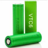 02 Bateria Sony 18650 Vtc6 3000 Mah 3,7v Original