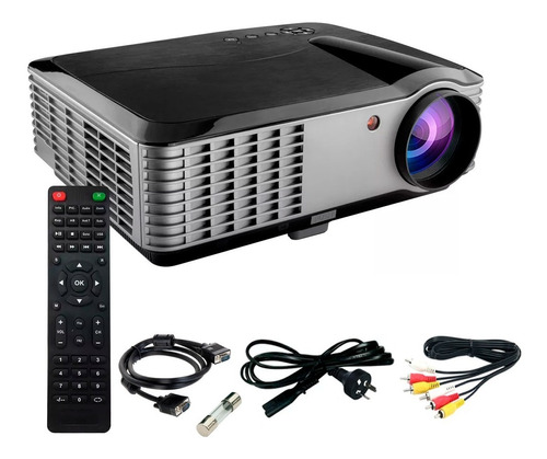 Proyector Hd 1080 Portable 6000 Lumens Led Hdmi Usb Parlante