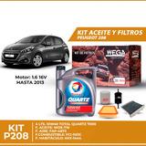 Cambio Kit De Filtros + 4l Aceite 10w40 Total - 208 1.6 16v