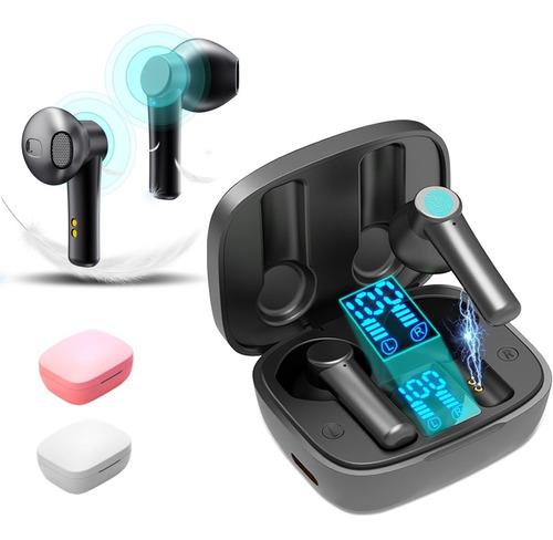 Audífonos Inalámbricos Bluetooth Recargable Con Micrófono