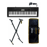 Pack Teclado Casio Ctk-3500 T. Sensibles + Funda + Atril