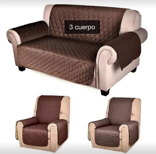 Pack 3 Cubre Sillon O Sofa