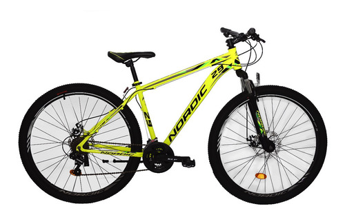 Bicicleta Nordic X1.0 By Slp R29 Shim. 21v Freno Disco Susp