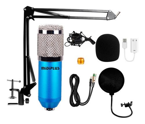 Microfono Condenser Bm800 Estudio Radio Karaoke Youtubers