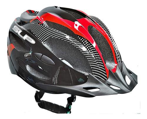 Casco Bicicleta Con Visera C/regulacion 21 Ventilaciones