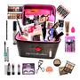 3 Maleta Com Maquiagem Profissional Ruby Rose Luisance Brind Original