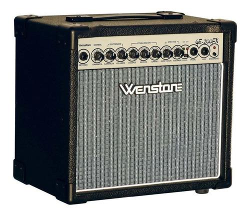 Amplificador Wenstone Ge200 Fx 20 Watts Para Guitarra