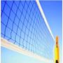 Kit Rede Vôlei 4 Lonas + 01 Bola Voleibol + 1 Bomba Original