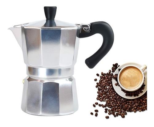 Percolador De Café Espresso De Aluminio De 6 Tazas