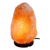 Lampara De Sal Luz Del Himalaya - 2 A 3 Kg Con Dimer