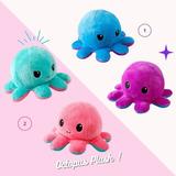 Pulpo Pulpito Reversible Peluche - Octopus