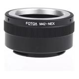 Adaptador Lente Montura M42 A Sony Nex Sony E- Mount Fotga