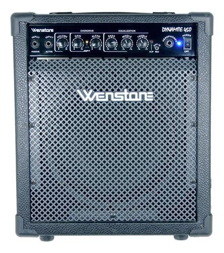 Amplificador Bajo Electrico Wenstone Be-400 40 Watts Parlant