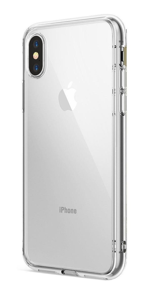 FUNDA RINGKE FUSION IPHONE XR CLEAR (TRANSPARENTE)