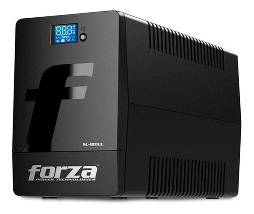 Ups Soft + Estabilizador Forza Sl-802ul-a Smart  800va/480w