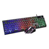 Teclado Y Mouse Gaming Cadeve-9122